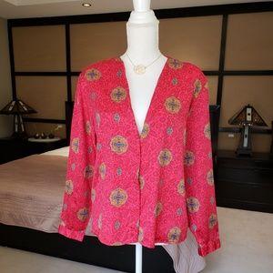 Vintage Diane von Furstenberg blouse